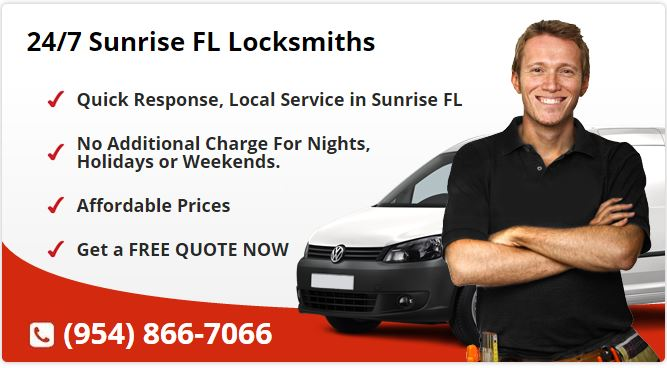 24 Hour Locksmith Sunrise FL